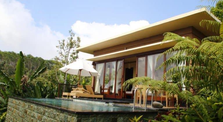 hotel bali munduk villa avec piscine