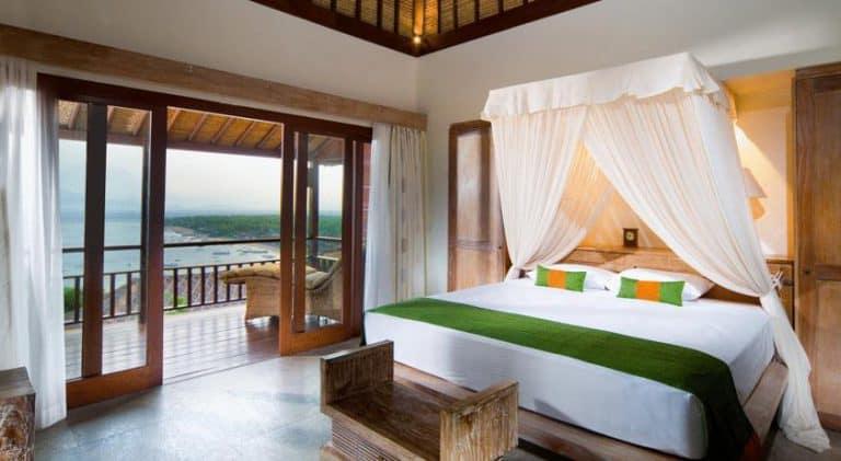 hotel bali nusa lembongan chambre