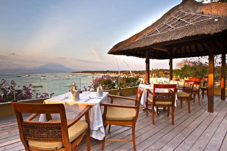 hotel bali nusa lembongan restaurant