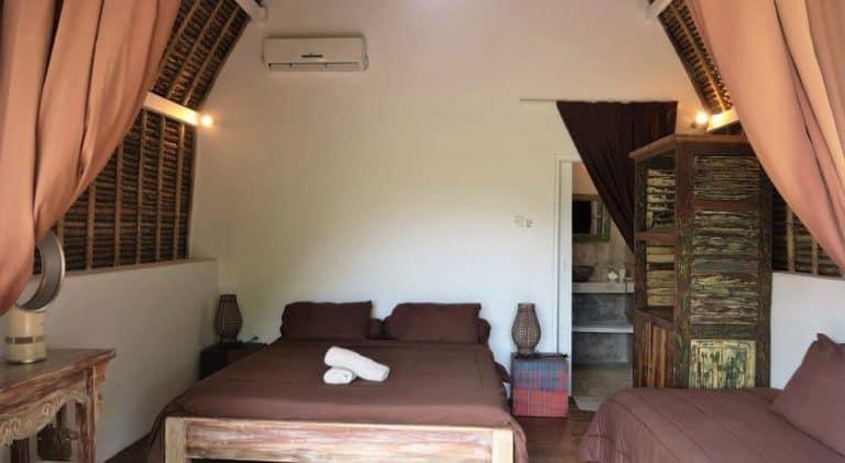 hotel bali nusa penida chambre