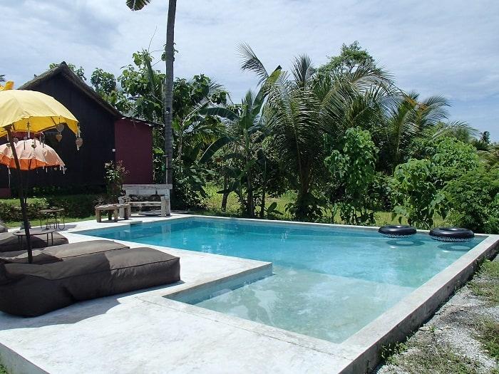 hotel bali nusa penida piscine extérieure