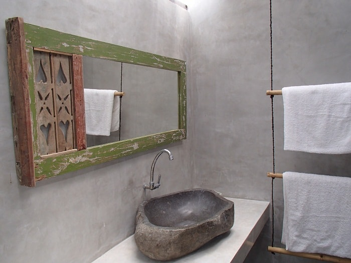 hotel bali nusa penida salle de bain