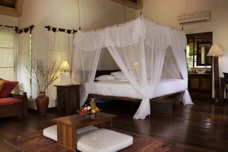 hotel bali pemuteran chambre lit double