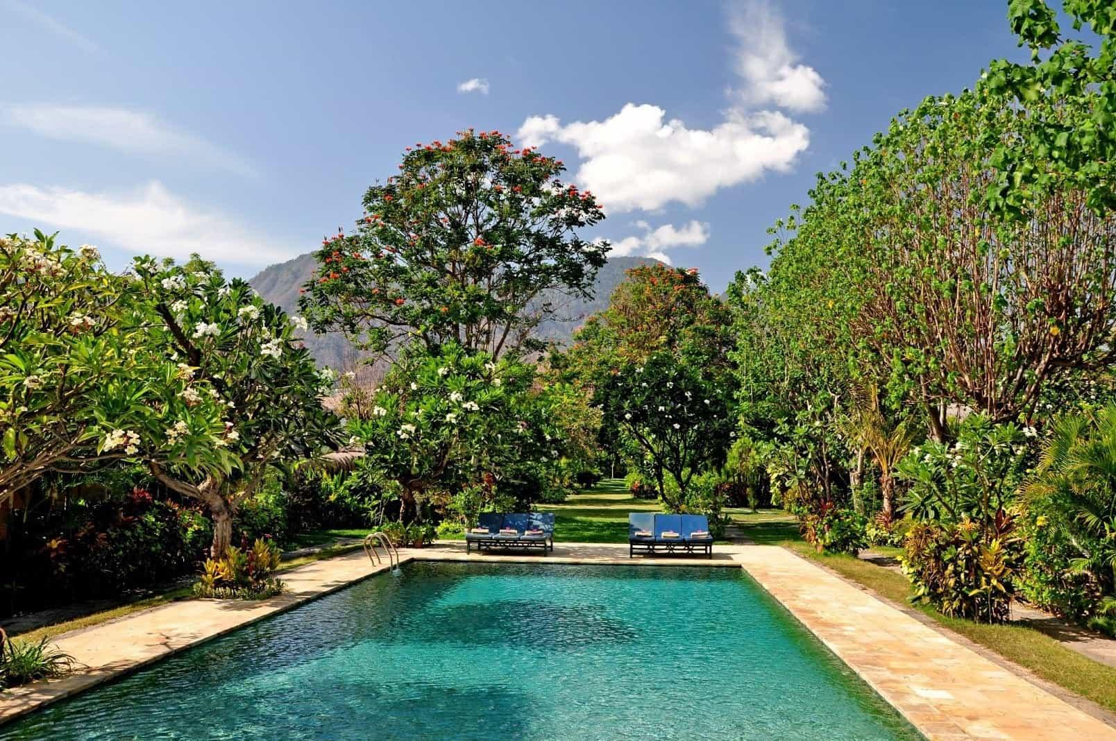 hotel bali pemuteran piscine extérieure