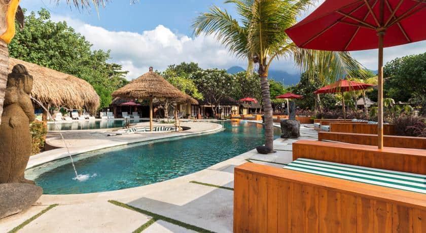 hotel bali pemuteran piscine