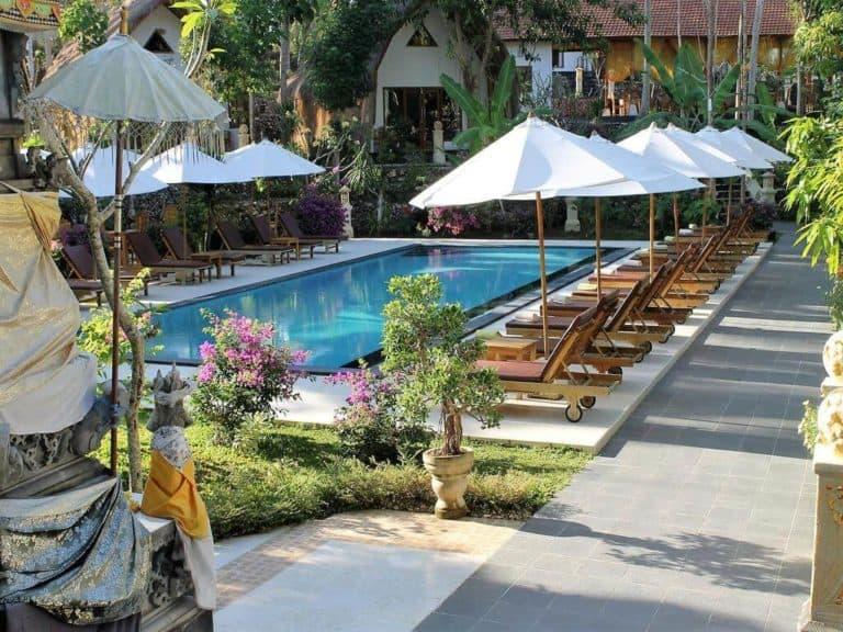 hotel bali penida piscine