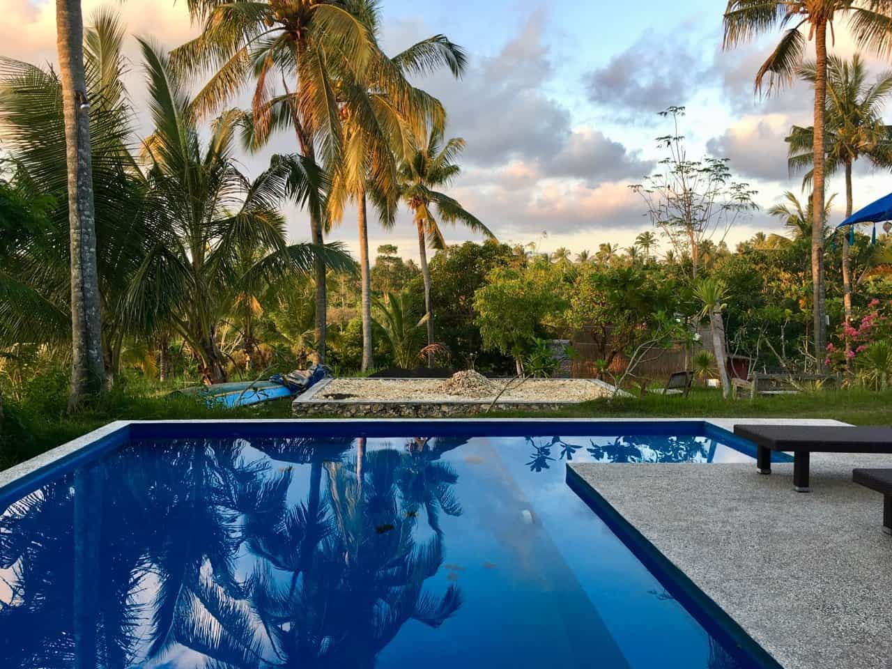 hotel Bali Penida vue piscine