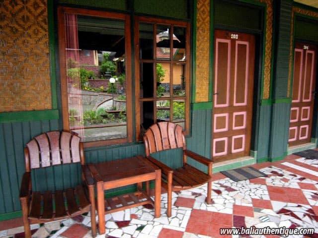 hotel bali probolinggo entrée bungalows