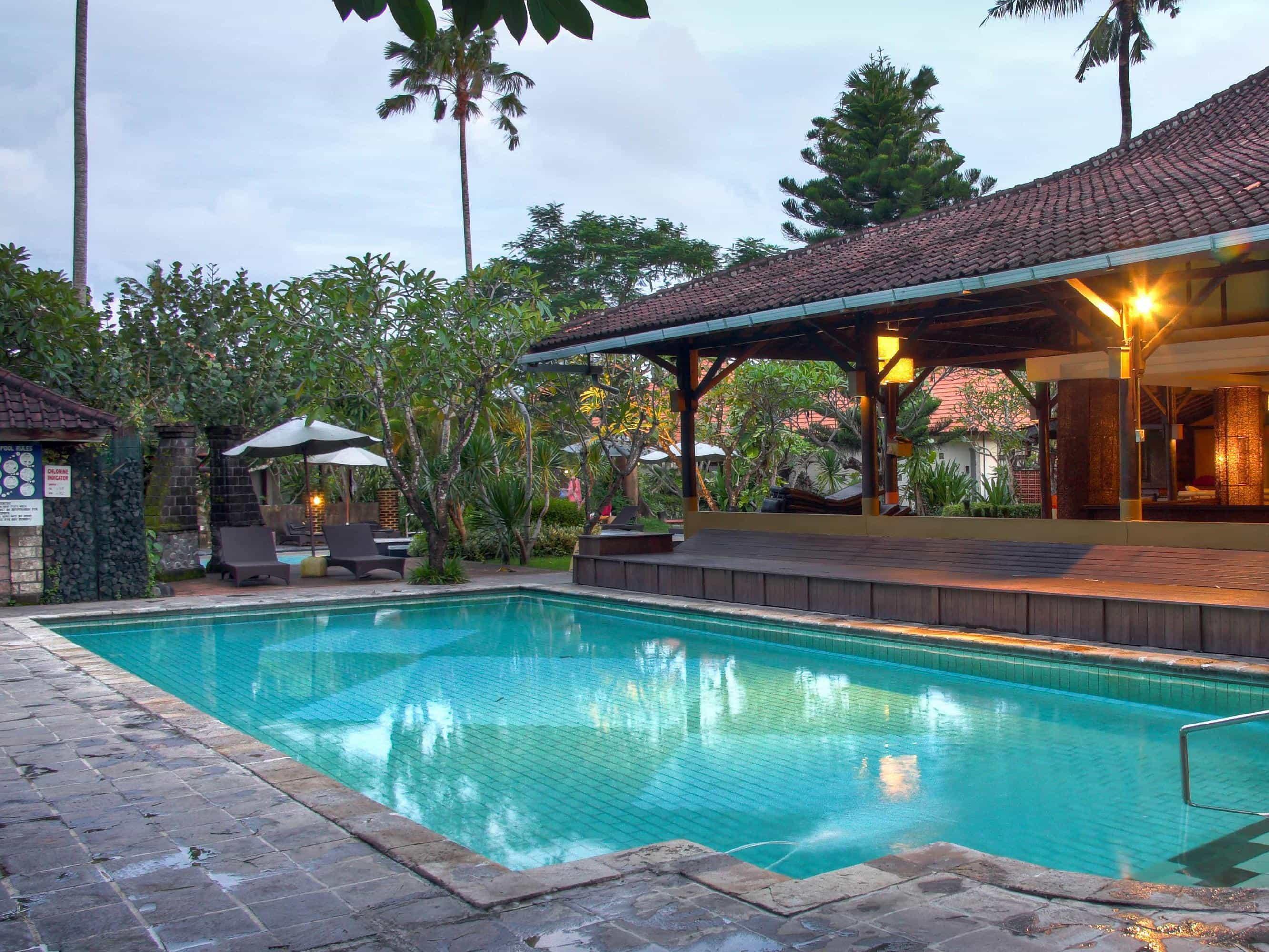 hotel bali sanur piscine panorama