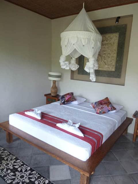 hotel bali sidemen chambre style balinaise