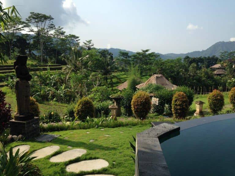 hotel bali sidemen jardin