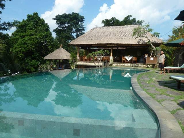 hotel bali sidemen piscine en extérieur