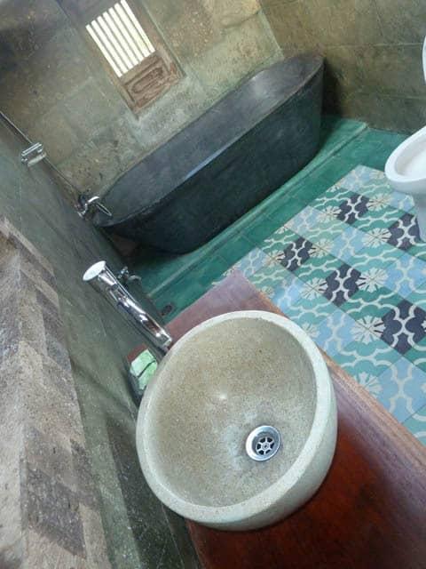 hotel bali sidemen salle de bain attenante chambre