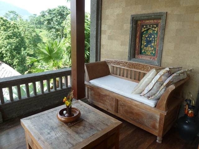 hotel bali sidemen sofa terrasse