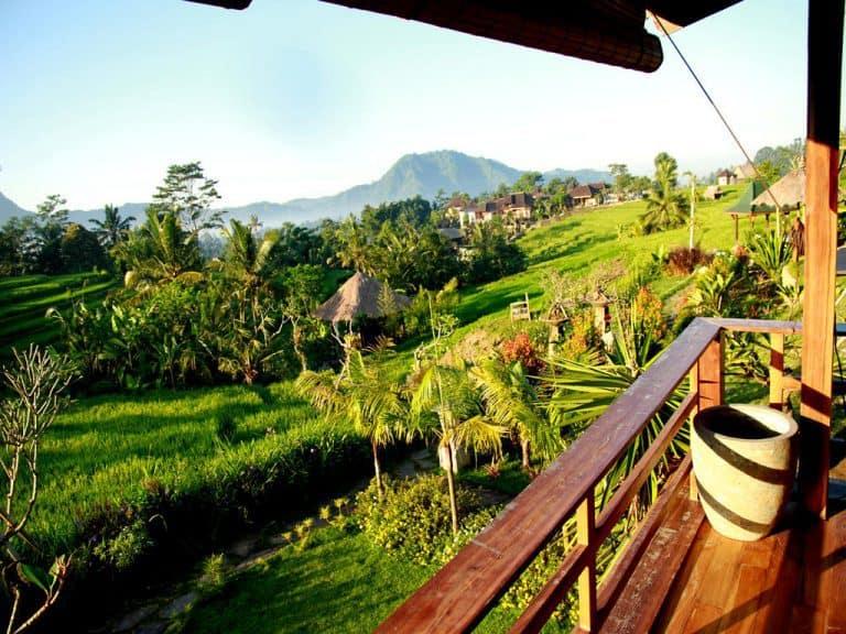hotel bali sidemen terrasse