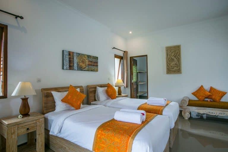 hotel bali sidemen chambres twin
