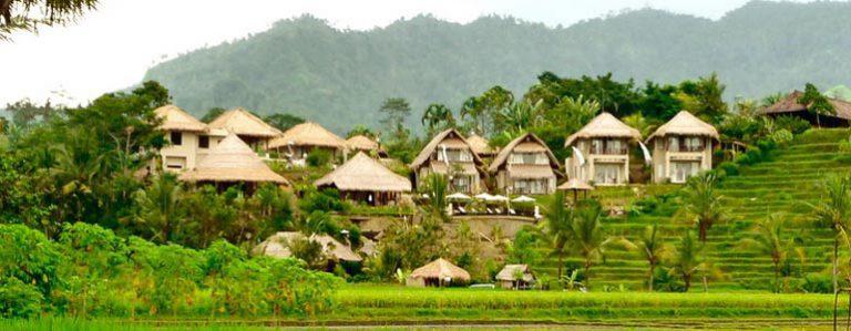 hotel bali sidemen vue riziere