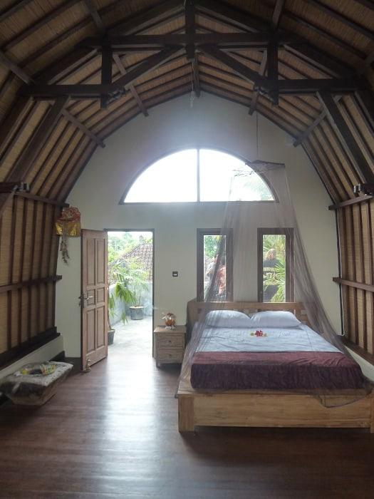 hotel bali tampaksiring chambre double