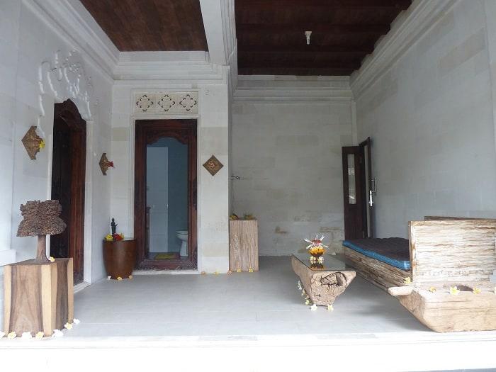 hotel bali tampaksiring intérieur chambre
