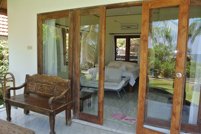hotel bali tulamben Amed chambre