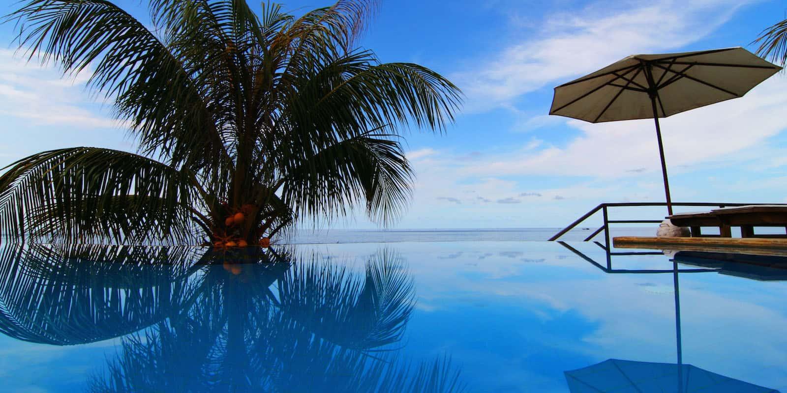 hotel bali tulamben Amed piscine panorama