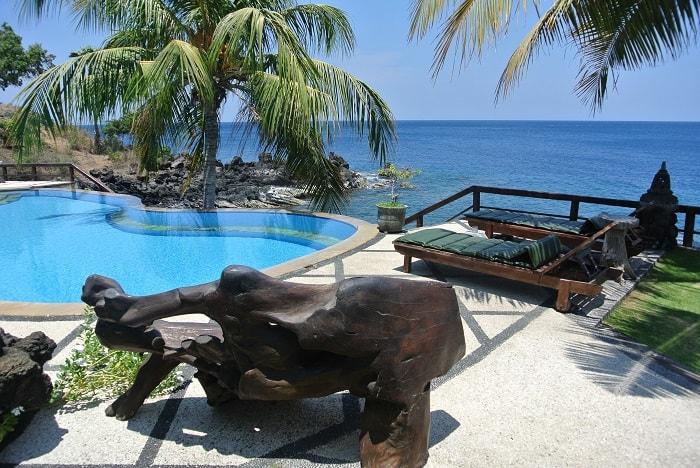 hotel bali tulamben Amed piscine