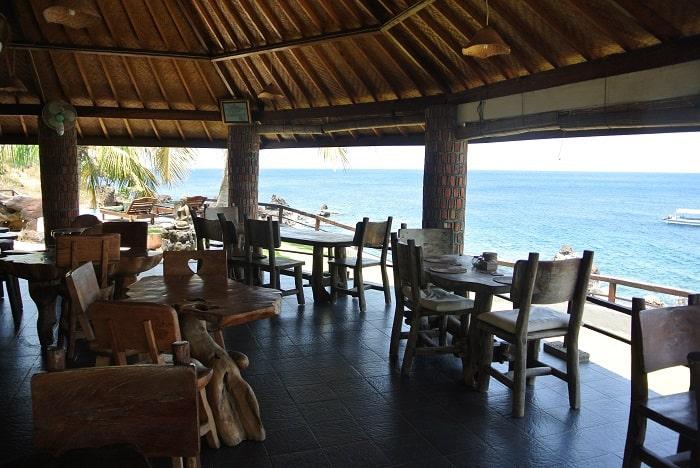 hotel bali tulamben Amed restaurant