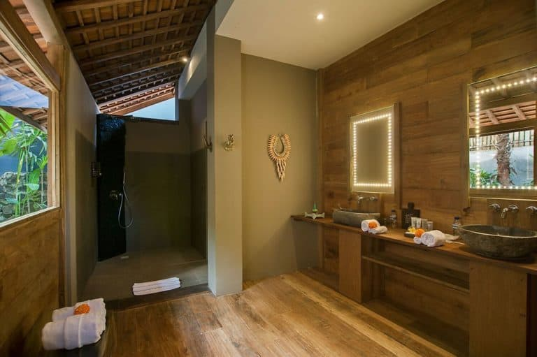 hotel bali ubud charme luxe toilettes