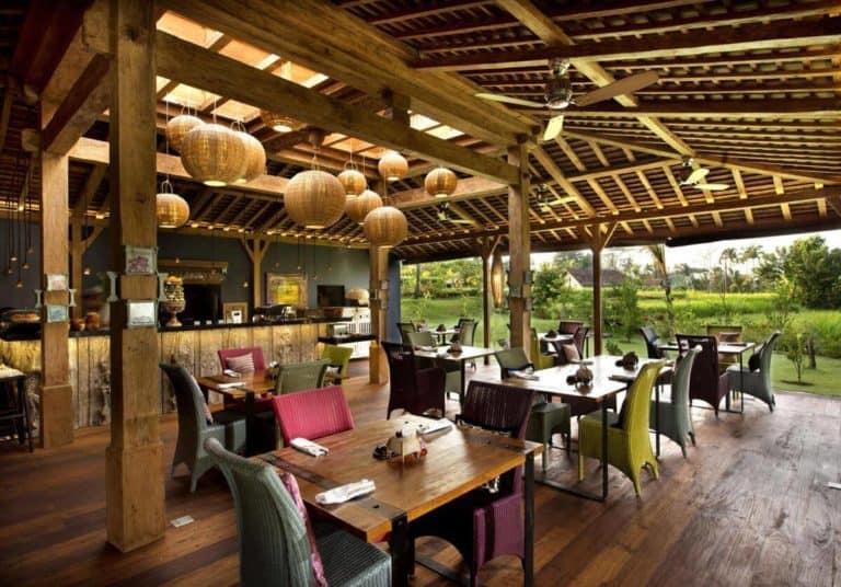 hotel bali ubud charme restaurant