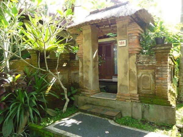 hotel Bali Ubud entrée
