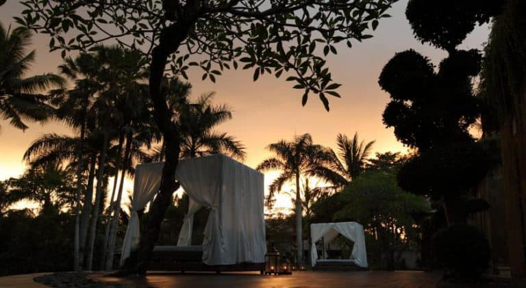 hotel bali ubud paysage romantique