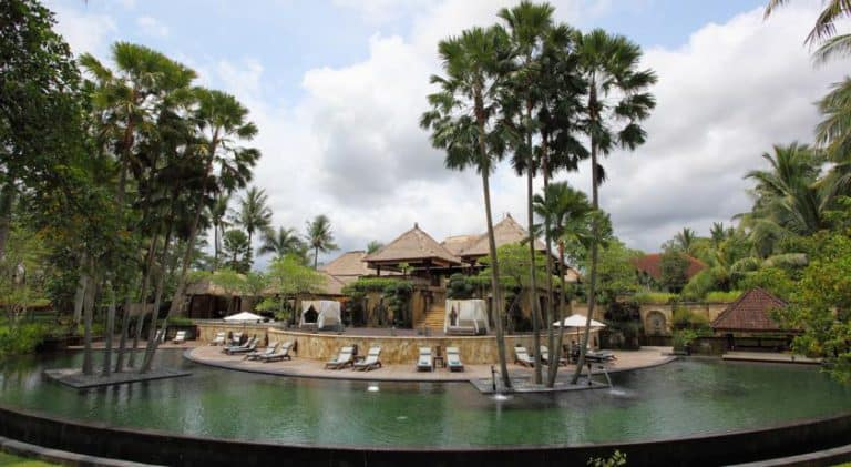 hotel bali ubud piscine naturel