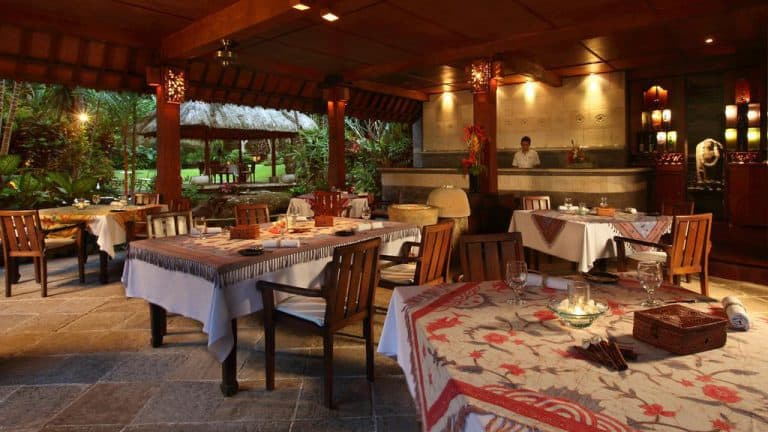 hotel bali ubud restaurant