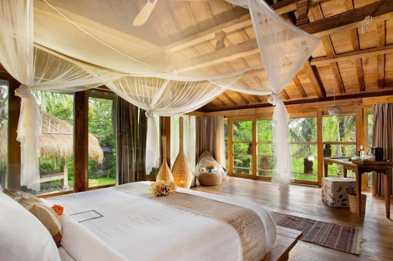 hotel bali ubud romantisme charme chambre