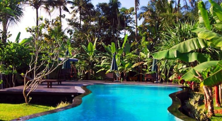 hotel Bali Ubud piscine