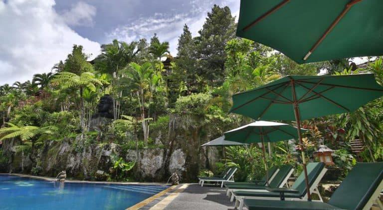 hotel bali ubud végétation