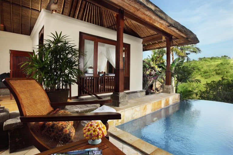 hotel bali ubud villa piscine