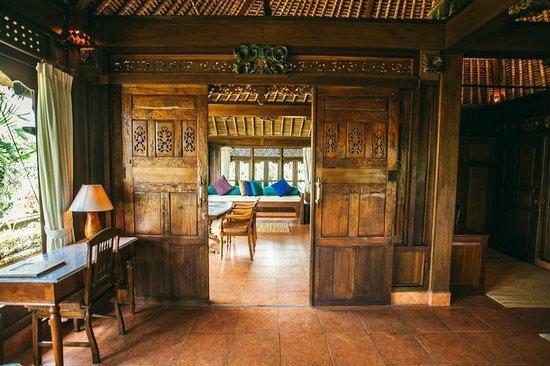 hotel Bali Ubud bois