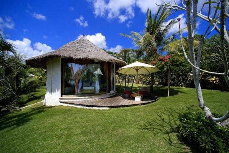 hotel bali uluwatu bungalow isolé