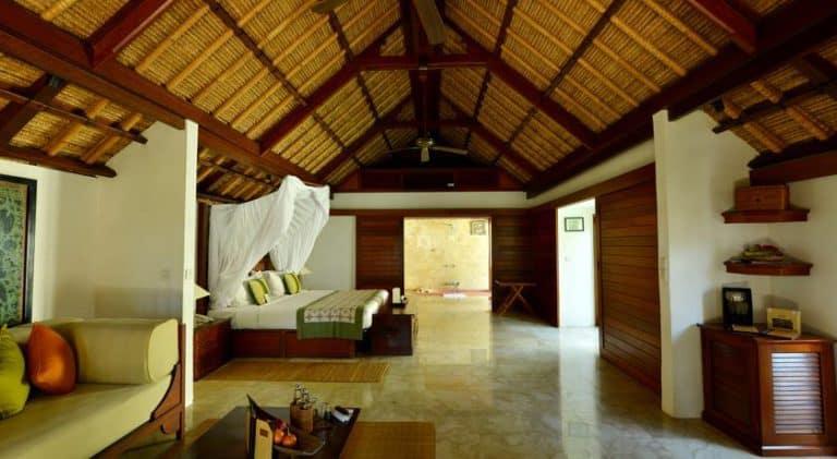 hotel bali uluwatu chambre luxe