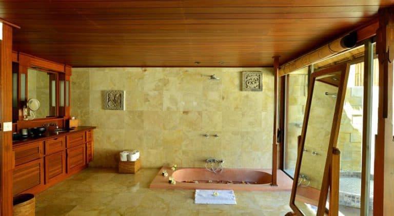 hotel bali uluwatu salle de bain