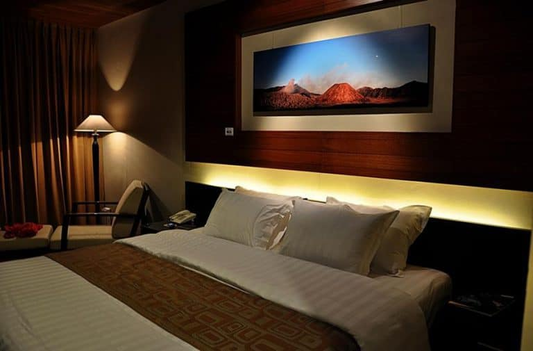 hotel bali volcan bromo chambre double
