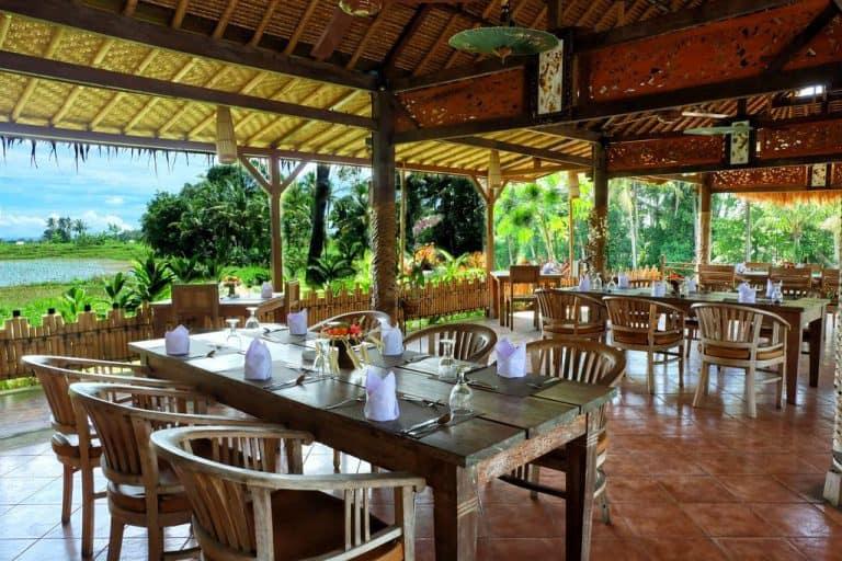 hotel banjar indonésie restaurant