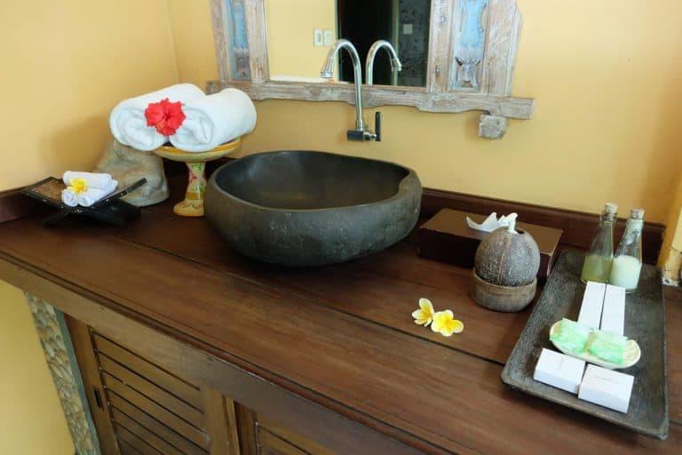 hotel banjar indonésie salle de bain