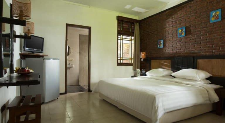 hotel banyuwangi indonésie chambre