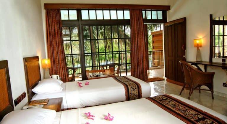 hotel banyuwangi indonésie lit twin