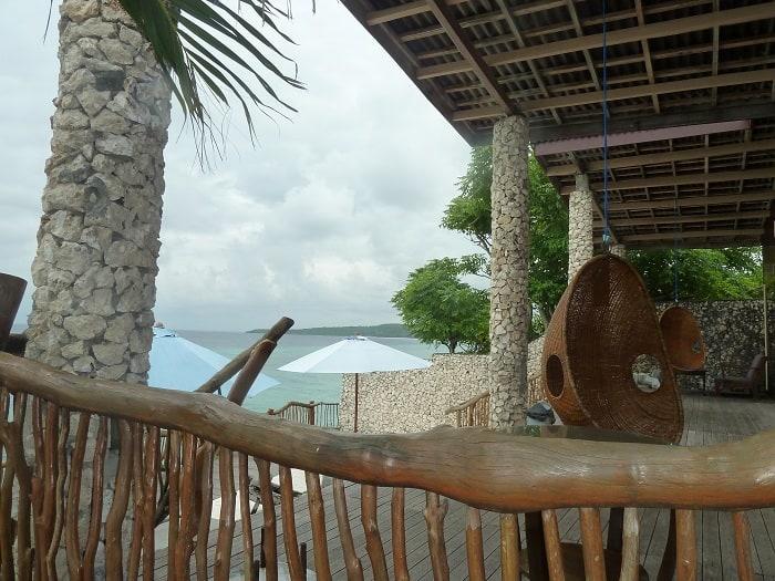 hotel bira sulawesi indonésie zen vue mer