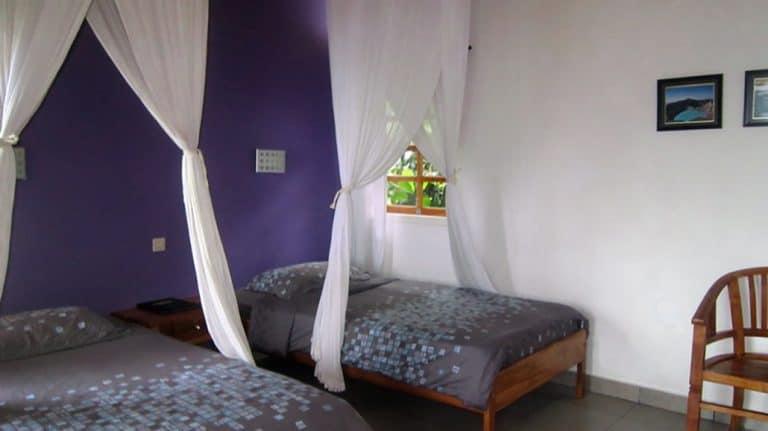 hotel Flores Labuan Bajo lits jumeaux