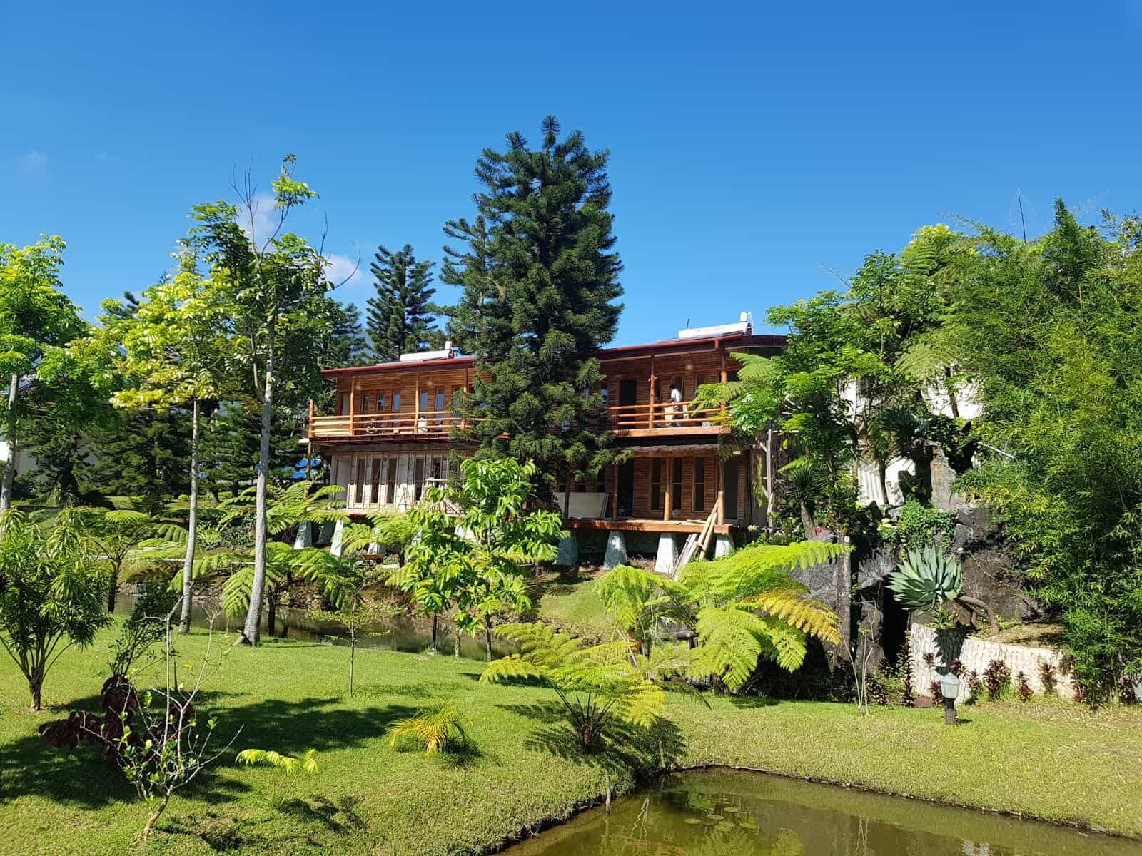 hotel Flores Ruteng vue globale