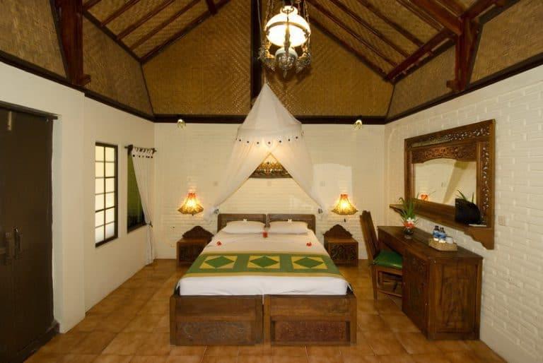 hotel gerokgak indonésie chambre standard